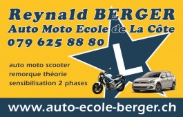 Bursins-Rolle-Perroy_auto-école Reynald Berger