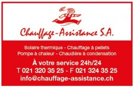 Chauffage assistance_FC Cheseaux