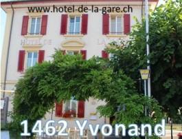 Hôtel de la Gare_ FC Yvonand