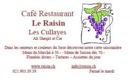 Jorat-Mézière_Restaurant Le Raisin