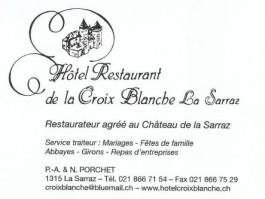 La Sarraz-Eclépens_Hôtel Restaurant de la Croix Blanche La Sarraz