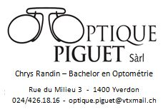 Optique Piguet_Ass Yverdon Juniors