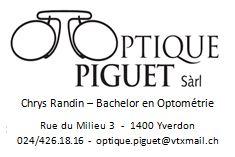 Optique Piguet_Ass Yverdon Juniors