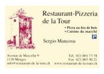 Pizzeria de la Tour_Forward Morges