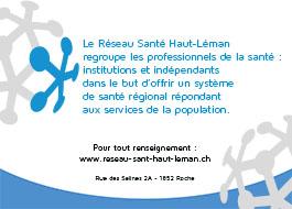 Réseau Santé haut léman_ FC Roche
