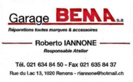 Renens_Garage Bema SA