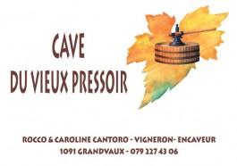 Vignoble_Cave du vieux Pressoir