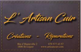 l'artisan cuir_saint légier