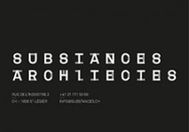 susbstances architectes_ saint légier
